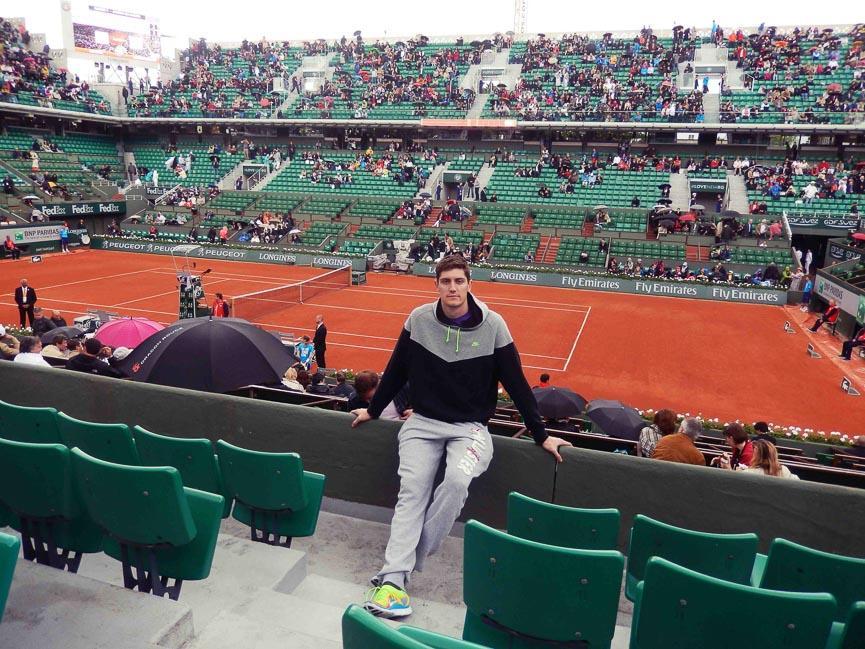 spela horvat paris tennis