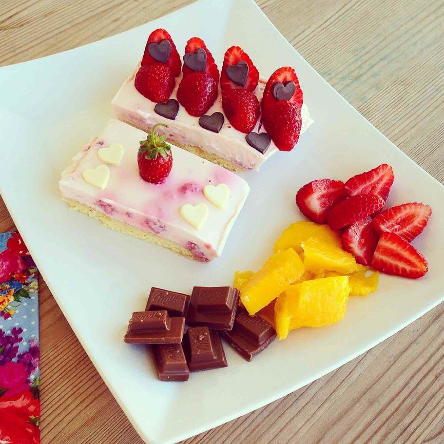 spela horvat chocolate strawberry dessert