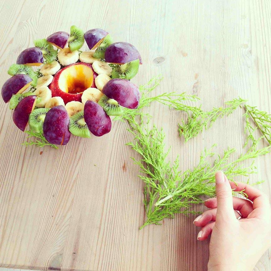 spela horvat food heart fruit