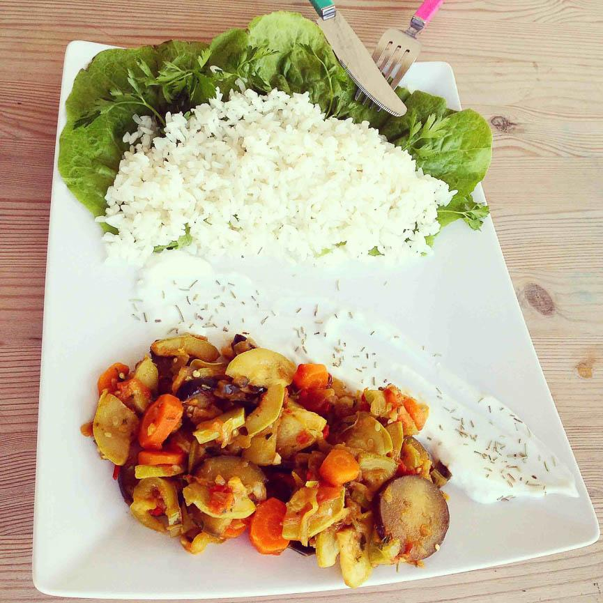 spela horvat healthy lunch food