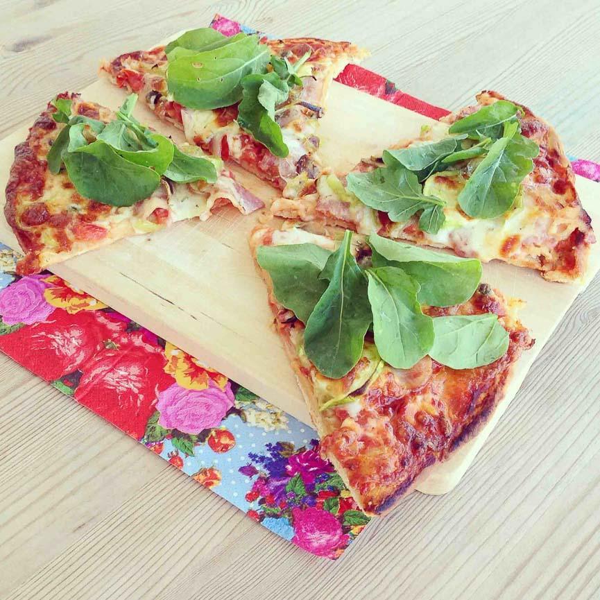 spela horvat healthy pizza