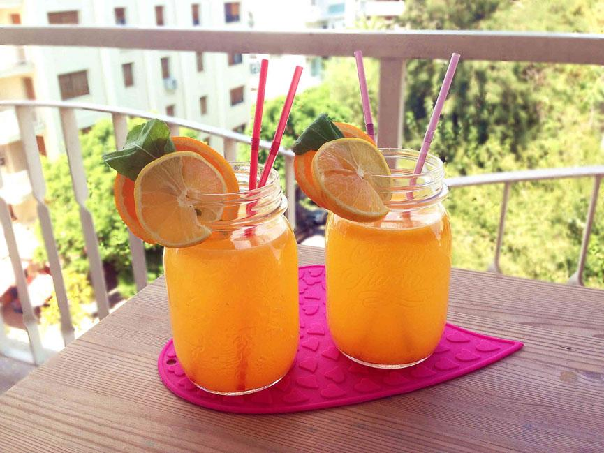 spela horvat orange juice food
