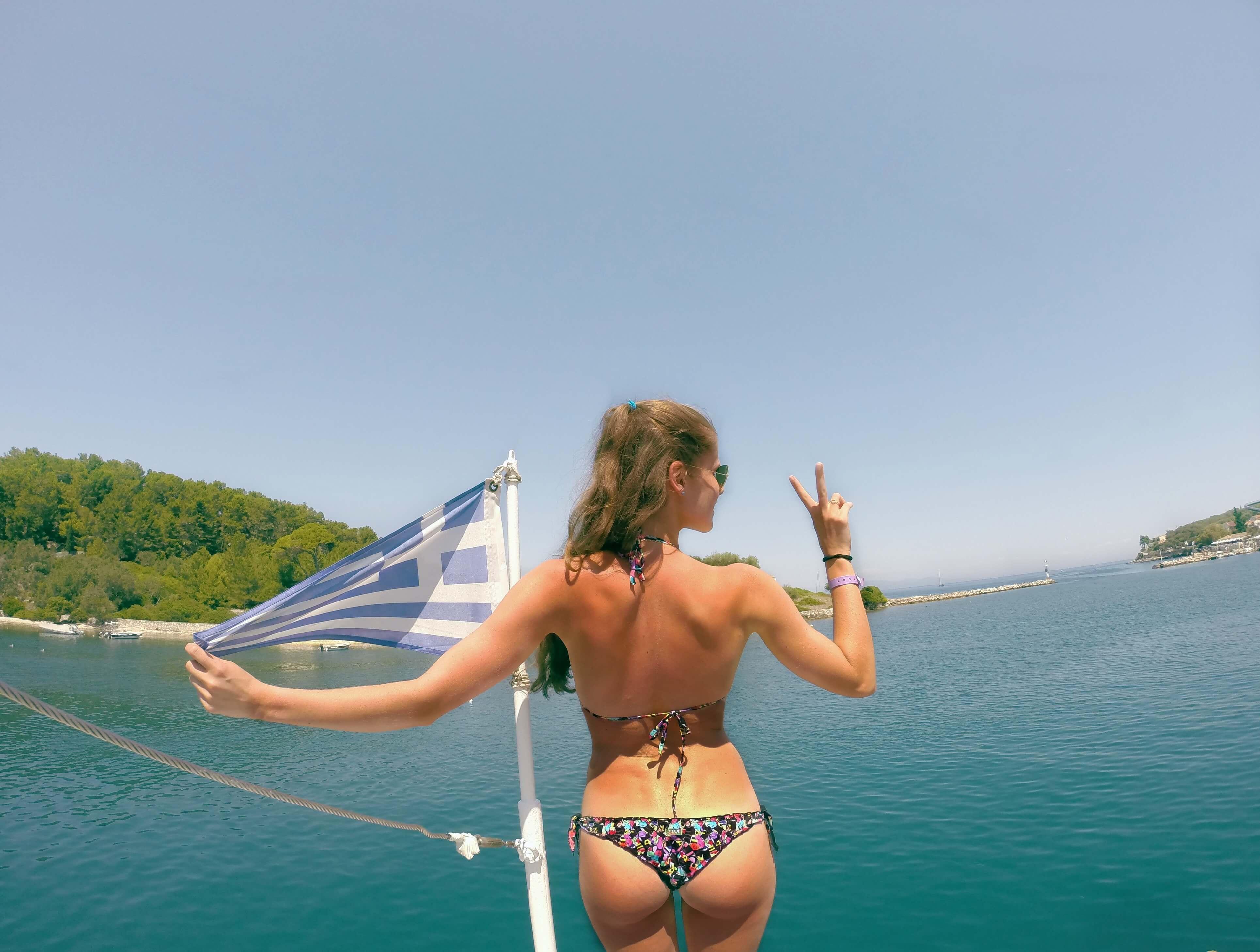 spela horvat blog greece flag